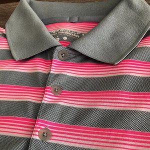 NIKE Golf Dri-Fit Performance Polo Shirt Swoosh